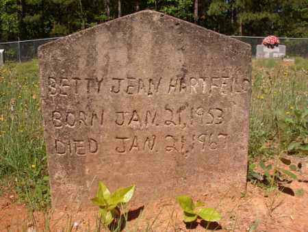 HARTFIELD, BETTY JEAN - Columbia County, Arkansas | BETTY JEAN HARTFIELD - Arkansas Gravestone Photos