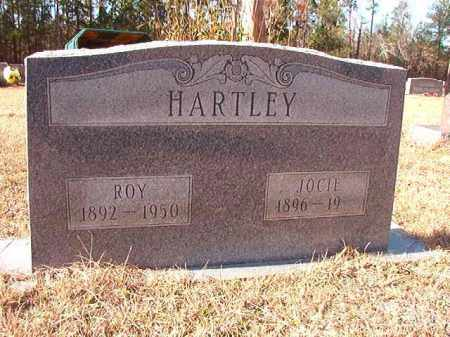 HARTLEY, JOCIE - Columbia County, Arkansas | JOCIE HARTLEY - Arkansas Gravestone Photos