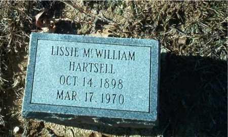 HARTSELL, LISSIE - Columbia County, Arkansas | LISSIE HARTSELL - Arkansas Gravestone Photos