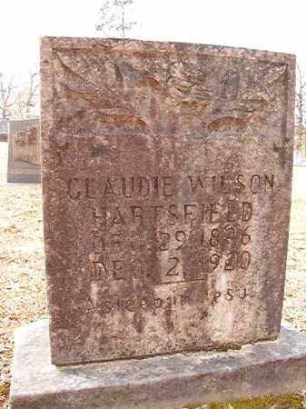 WILSON HARTSFIELD, CLAUDIE - Columbia County, Arkansas | CLAUDIE WILSON HARTSFIELD - Arkansas Gravestone Photos