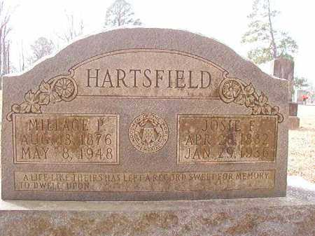 HARTSFIELD, JOSIE F - Columbia County, Arkansas | JOSIE F HARTSFIELD - Arkansas Gravestone Photos