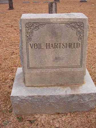 HARTSFIELD, VOIL - Columbia County, Arkansas   VOIL HARTSFIELD - Arkansas Gravestone Photos