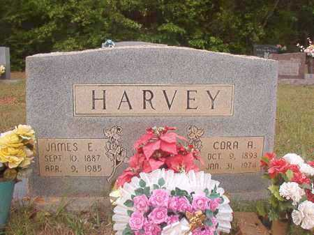 HARVEY, JAMES E - Columbia County, Arkansas | JAMES E HARVEY - Arkansas Gravestone Photos