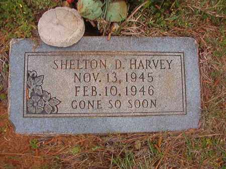 HARVEY, SHELTON D - Columbia County, Arkansas | SHELTON D HARVEY - Arkansas Gravestone Photos