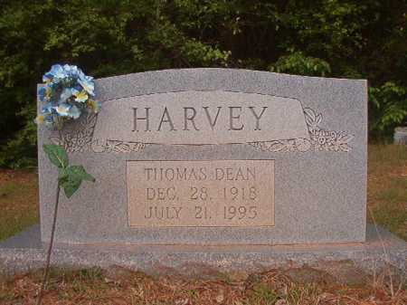 HARVEY, THOMAS DEAN - Columbia County, Arkansas | THOMAS DEAN HARVEY - Arkansas Gravestone Photos