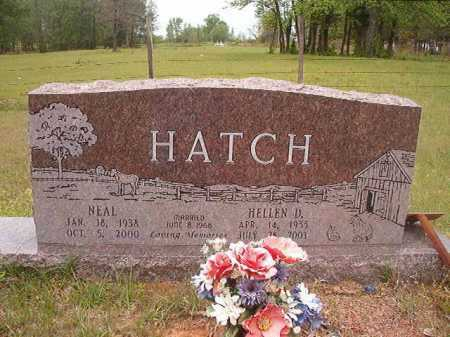HATCH, NEAL - Columbia County, Arkansas | NEAL HATCH - Arkansas Gravestone Photos
