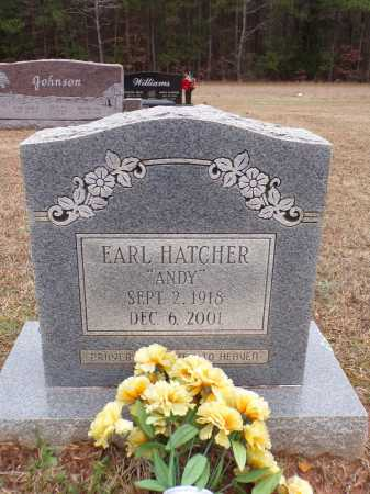 "HATCHER, EARL ""ANDY"" - Columbia County, Arkansas 