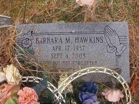 HAWKINS, BARBARA M - Columbia County, Arkansas | BARBARA M HAWKINS - Arkansas Gravestone Photos