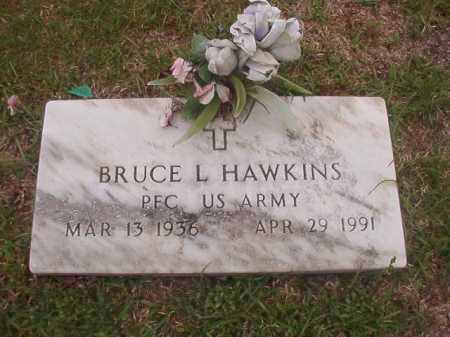 HAWKINS (VETERAN), BRUCE L - Columbia County, Arkansas | BRUCE L HAWKINS (VETERAN) - Arkansas Gravestone Photos