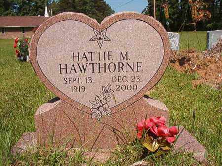 HAWTHORNE, HATTIE M - Columbia County, Arkansas | HATTIE M HAWTHORNE - Arkansas Gravestone Photos