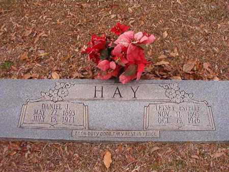 HAY, DANIEL J - Columbia County, Arkansas | DANIEL J HAY - Arkansas Gravestone Photos