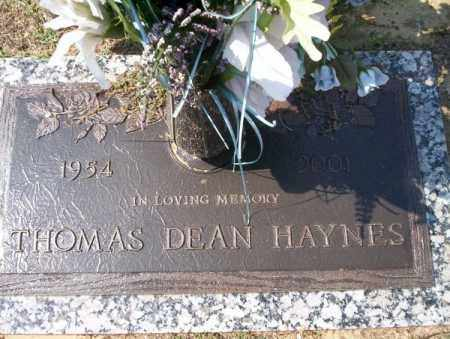 HAYNES, THOMAS DEAN - Columbia County, Arkansas | THOMAS DEAN HAYNES - Arkansas Gravestone Photos
