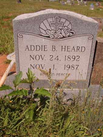HEARD, ADDIE B - Columbia County, Arkansas | ADDIE B HEARD - Arkansas Gravestone Photos