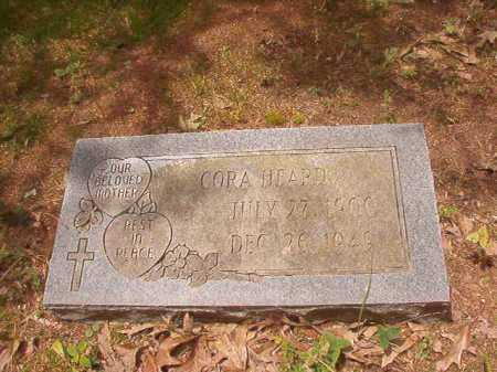 HEARD, CORA - Columbia County, Arkansas | CORA HEARD - Arkansas Gravestone Photos