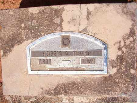 HEARD, HOSEIA A - Columbia County, Arkansas | HOSEIA A HEARD - Arkansas Gravestone Photos