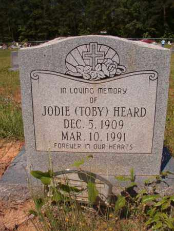 HEARD, JODIE (TOBY) - Columbia County, Arkansas | JODIE (TOBY) HEARD - Arkansas Gravestone Photos