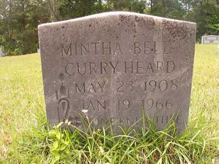 CURRY HEARD, MINTHA BELL - Columbia County, Arkansas | MINTHA BELL CURRY HEARD - Arkansas Gravestone Photos