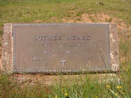 HEARD (VETERAN WWI), LUTHER - Columbia County, Arkansas | LUTHER HEARD (VETERAN WWI) - Arkansas Gravestone Photos