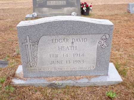 HEATH, EDGAR DAVID - Columbia County, Arkansas | EDGAR DAVID HEATH - Arkansas Gravestone Photos