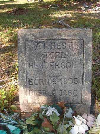 HENDERSON, TOBE - Columbia County, Arkansas   TOBE HENDERSON - Arkansas Gravestone Photos