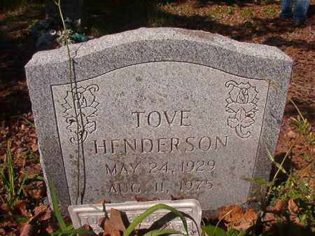 HENDERSON, TOVE - Columbia County, Arkansas | TOVE HENDERSON - Arkansas Gravestone Photos