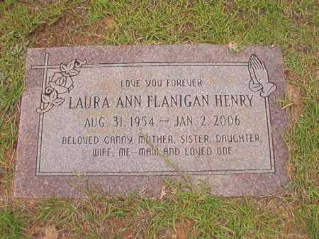 HENRY, LAURA ANN - Columbia County, Arkansas | LAURA ANN HENRY - Arkansas Gravestone Photos