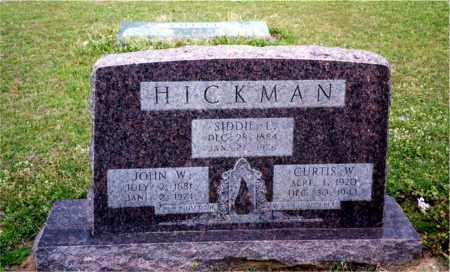 HICKMAN, CURTIS W. - Columbia County, Arkansas | CURTIS W. HICKMAN - Arkansas Gravestone Photos