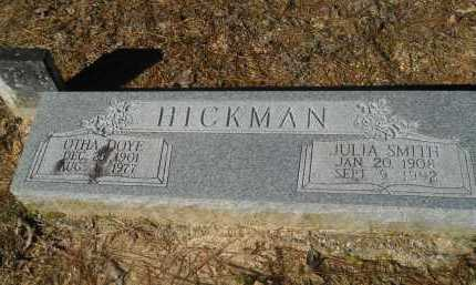 HICKMAN, OTHA DOYE - Columbia County, Arkansas | OTHA DOYE HICKMAN - Arkansas Gravestone Photos