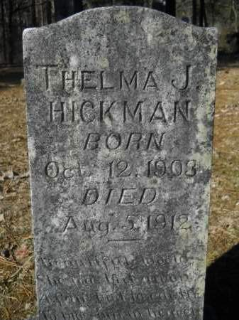 HICKMAN, THELMA J. - Columbia County, Arkansas | THELMA J. HICKMAN - Arkansas Gravestone Photos