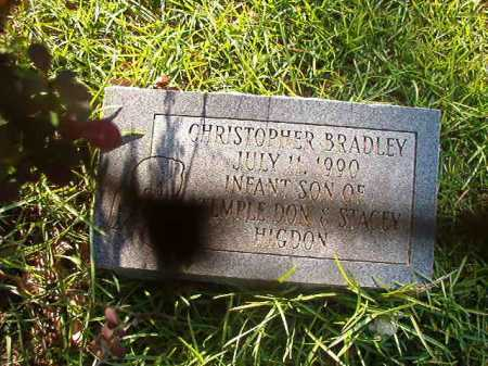 HIGDON, CHRISTOPHER BRADLEY - Columbia County, Arkansas | CHRISTOPHER BRADLEY HIGDON - Arkansas Gravestone Photos