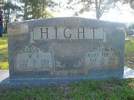 HIGHT, W R - Columbia County, Arkansas | W R HIGHT - Arkansas Gravestone Photos