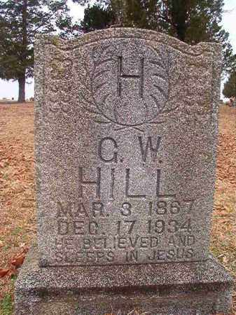 HILL, G W - Columbia County, Arkansas | G W HILL - Arkansas Gravestone Photos