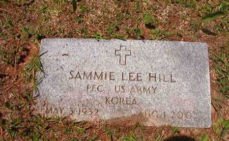 HILL (VETERAN KOR), SAMMIE LEE - Columbia County, Arkansas | SAMMIE LEE HILL (VETERAN KOR) - Arkansas Gravestone Photos