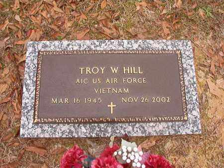 HILL (VETERAN VIET), TROY W - Columbia County, Arkansas | TROY W HILL (VETERAN VIET) - Arkansas Gravestone Photos