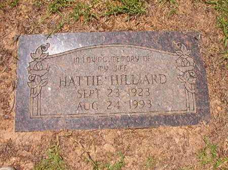 HILLIARD, HATTIE - Columbia County, Arkansas | HATTIE HILLIARD - Arkansas Gravestone Photos