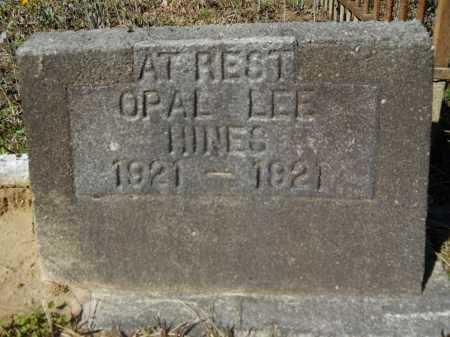 HINES, OPAL LEE - Columbia County, Arkansas | OPAL LEE HINES - Arkansas Gravestone Photos