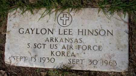 HINSON (VETERAN KOR), GAYLON LEE - Columbia County, Arkansas | GAYLON LEE HINSON (VETERAN KOR) - Arkansas Gravestone Photos
