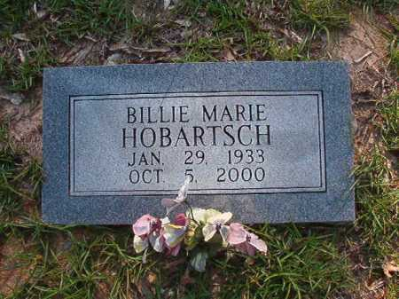 HOBARTSCH, BILLIE MARIE - Columbia County, Arkansas | BILLIE MARIE HOBARTSCH - Arkansas Gravestone Photos