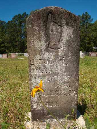 HOBSON, LUE JETTIE - Columbia County, Arkansas | LUE JETTIE HOBSON - Arkansas Gravestone Photos