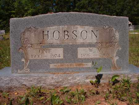 HOBSON, ONIE - Columbia County, Arkansas | ONIE HOBSON - Arkansas Gravestone Photos