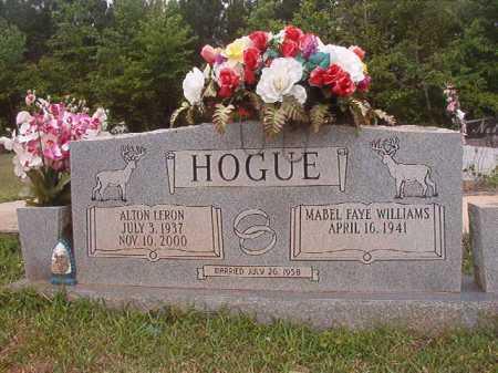 HOGUE, ALTON LERON - Columbia County, Arkansas | ALTON LERON HOGUE - Arkansas Gravestone Photos