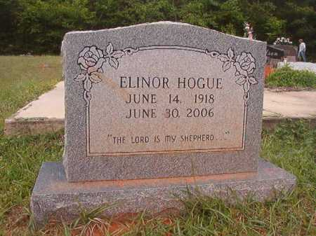 HOGUE, ELINOR - Columbia County, Arkansas | ELINOR HOGUE - Arkansas Gravestone Photos