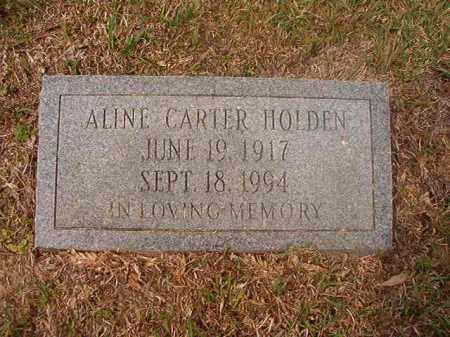 CARTER HOLDEN, ALINE - Columbia County, Arkansas | ALINE CARTER HOLDEN - Arkansas Gravestone Photos