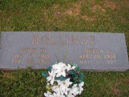 HOLLINDE, DELLA L - Columbia County, Arkansas | DELLA L HOLLINDE - Arkansas Gravestone Photos