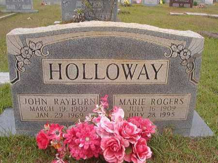 HOLLOWAY, JOHN RAYBURN - Columbia County, Arkansas | JOHN RAYBURN HOLLOWAY - Arkansas Gravestone Photos