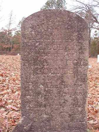 HOLMES, LEOLA - Columbia County, Arkansas | LEOLA HOLMES - Arkansas Gravestone Photos