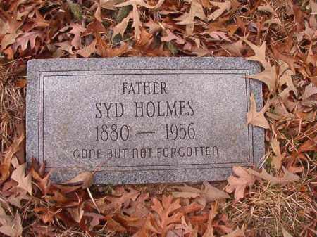 HOLMES, SYD - Columbia County, Arkansas | SYD HOLMES - Arkansas Gravestone Photos