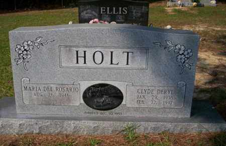 HOLT, CLYDE DERYL - Columbia County, Arkansas | CLYDE DERYL HOLT - Arkansas Gravestone Photos