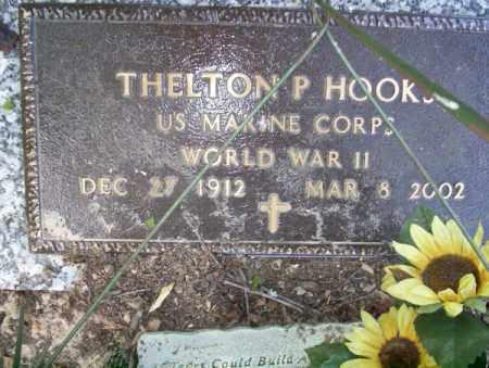 HOOKS (VETERAN WWII), THELTON P - Columbia County, Arkansas | THELTON P HOOKS (VETERAN WWII) - Arkansas Gravestone Photos