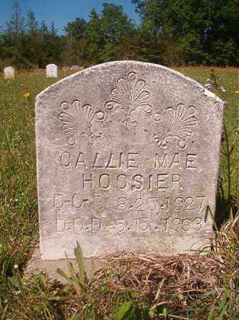 HOOSIER, CALLIE MAE - Columbia County, Arkansas | CALLIE MAE HOOSIER - Arkansas Gravestone Photos